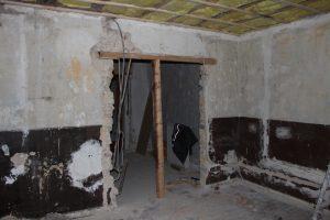 Haus in Hürth-Gleuel, Wohnzimmer - vorher