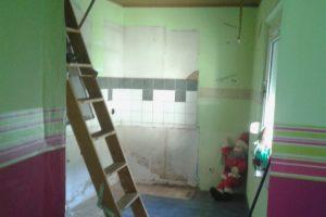 Haus in Vettweiß, Küche - vorher