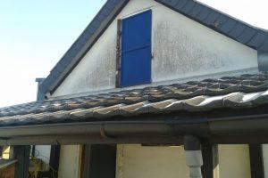 Haus in Vettweiß, Terrasse - vorher