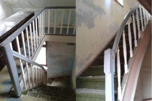 Haus in Hürth, Treppe - vorher