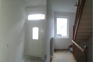 Eingang und Flur, nachher