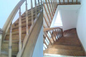 Haus in Fischenich, Treppe nachher