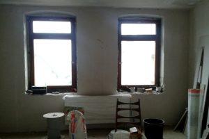Wohnzimmer, vorher