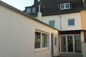 Fassade, Gartenseite - nachher