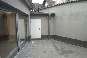 Haus in-Alt-Hürth, Hof nachher